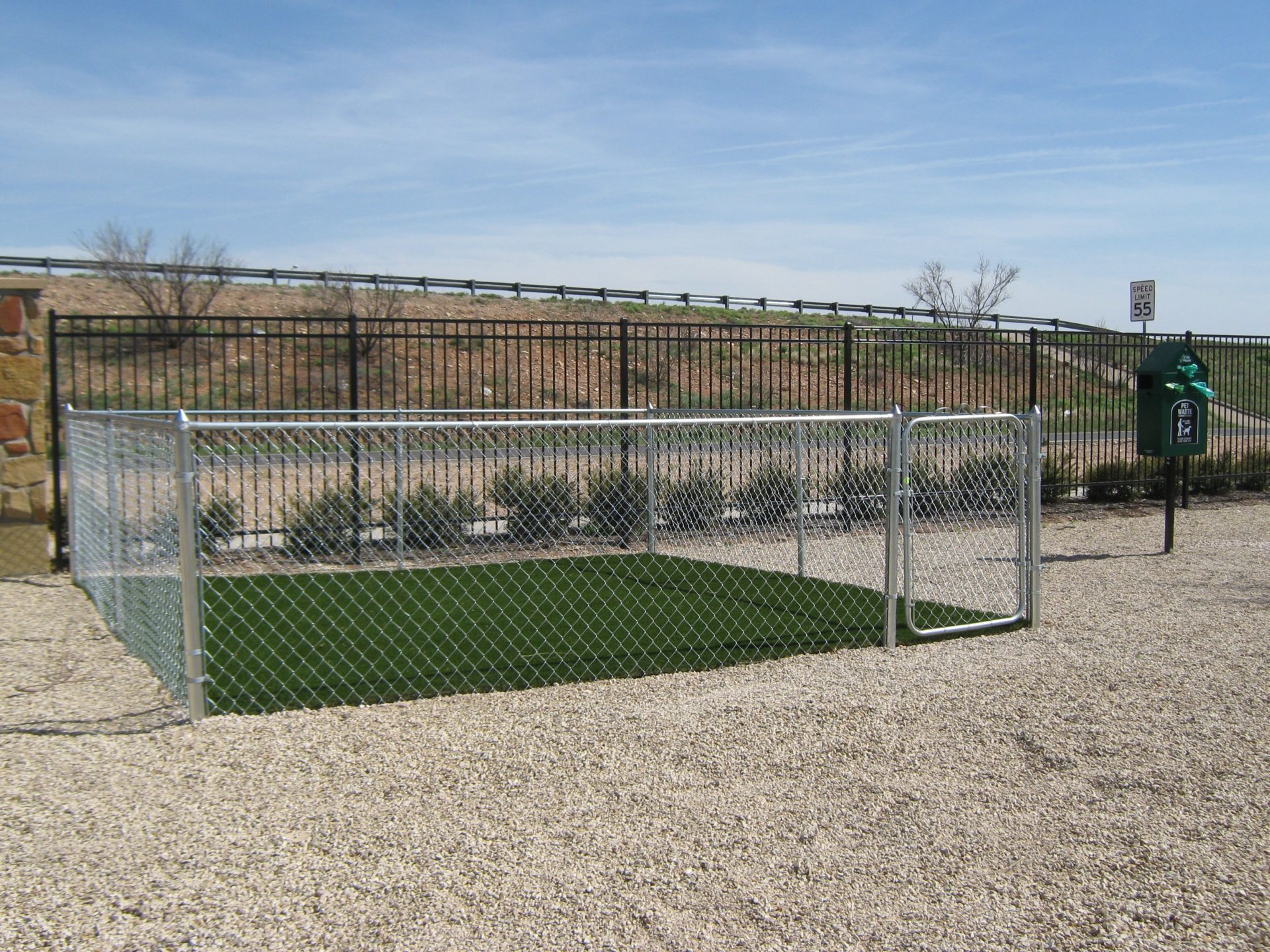 Sunset Lodge dog park