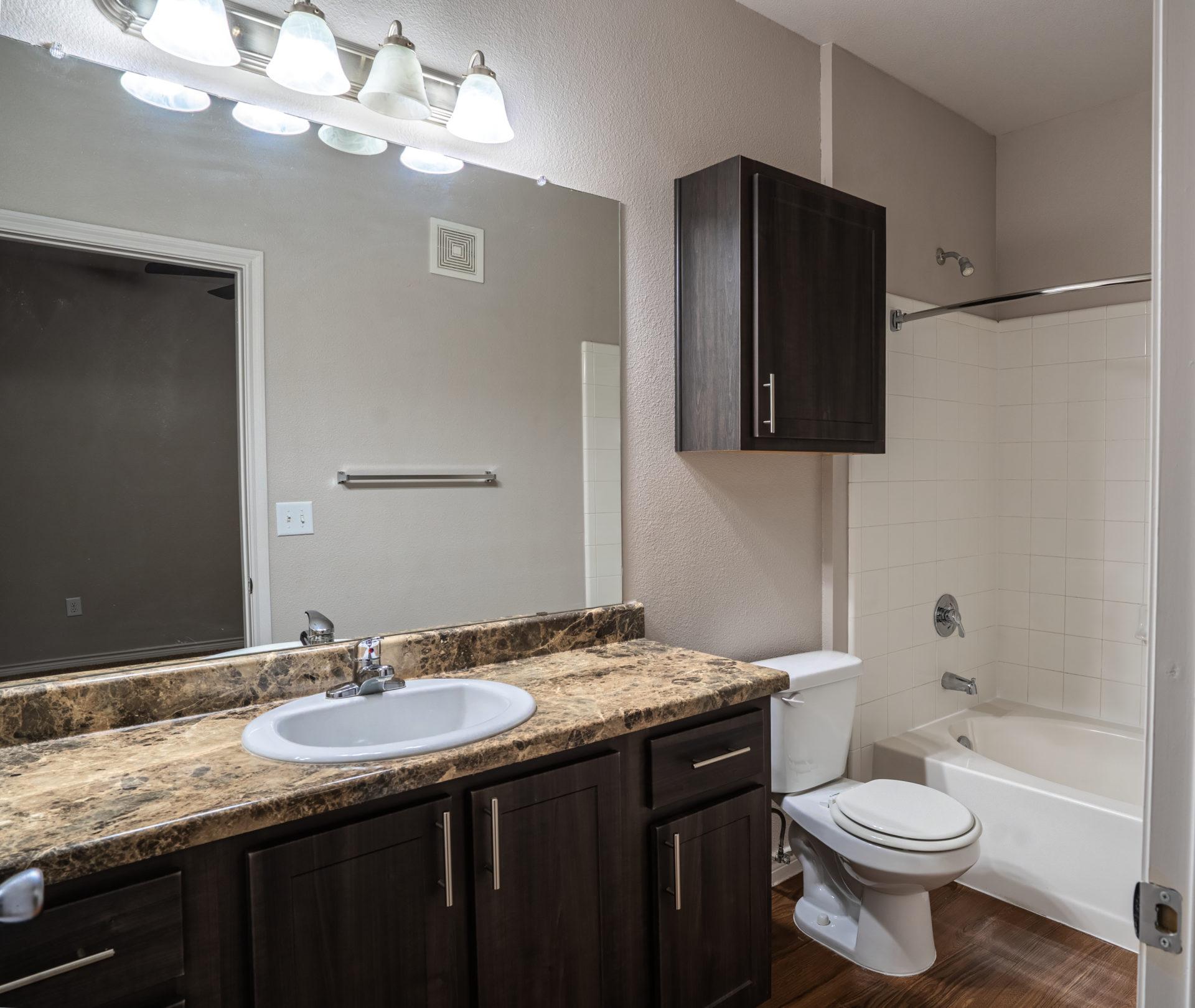 sunset lodge bathrooms