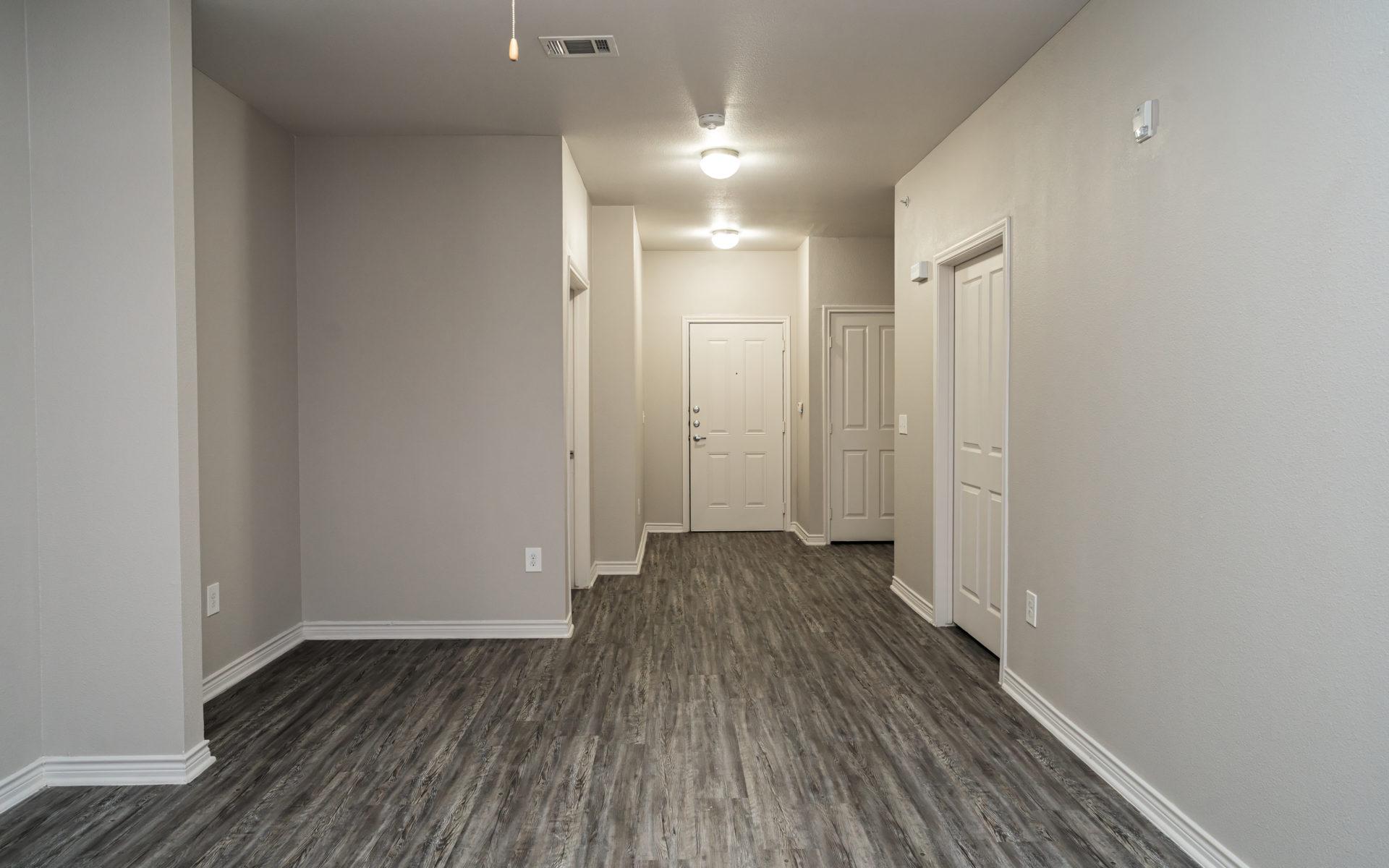 hallway at sunset lodge
